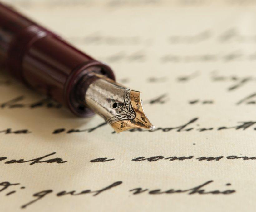 De pen maakt de schrijver
